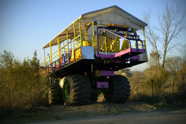 Custom 28-Seat Monster Truck