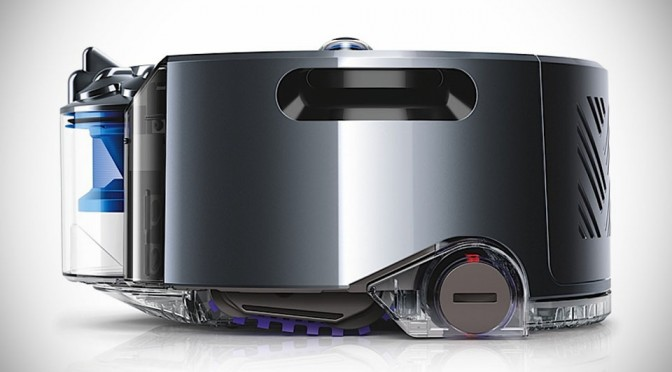 Dyson's First Robot Vacuum Cleaner Has 360-Degree Vision For Navigation