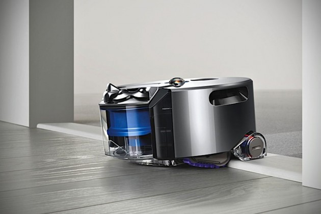 dyson 39 s first robot vacuum cleaner has 360 degree vision. Black Bedroom Furniture Sets. Home Design Ideas