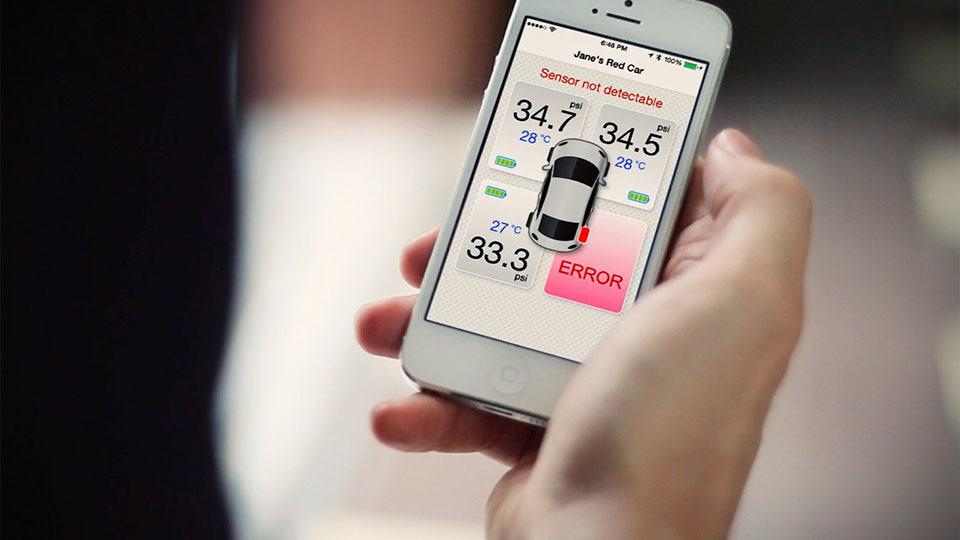 Fobo Tire Monitors Your Car S Tire Pressure 24 7 Ensuring