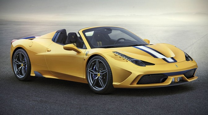 This is Ferrari 458 Speciale A, the Most Powerful Ferrari Spider Yet and Only 499 Will Be Made