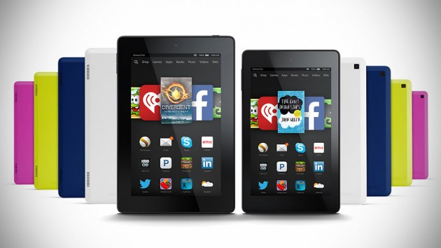 Fire HD 6 and HD 7 Tablets