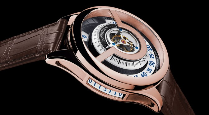 Fonderie 47 Inversion Principle Red Gold Watch