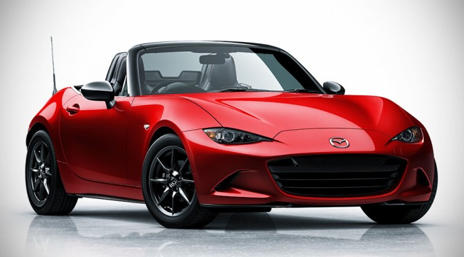 Mazda Fourth-Generation MX5 Roadster Officially Unveiled