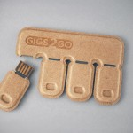 Gigs 2 Go Is The Tab Stickers Of The Flash Drive World, Lets You Store Large Files for Easy Sharing