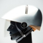 This Is Philippe Starck's Take On A Bike Helmet and It Looks Like An Anti-Riot Squad Helmet