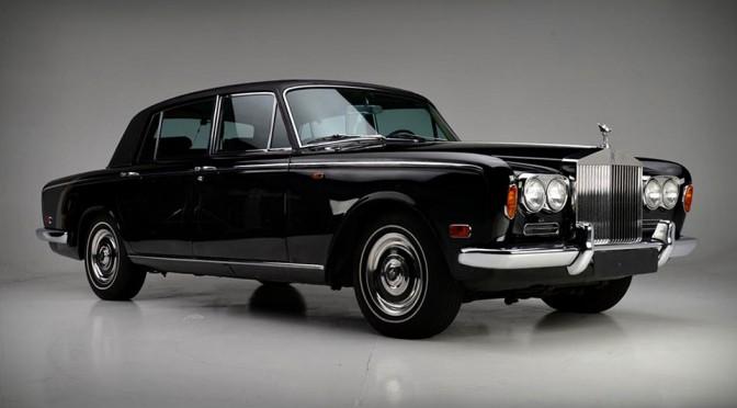 Johnny Cash 1970 Rolls-Royce Silver Shadow