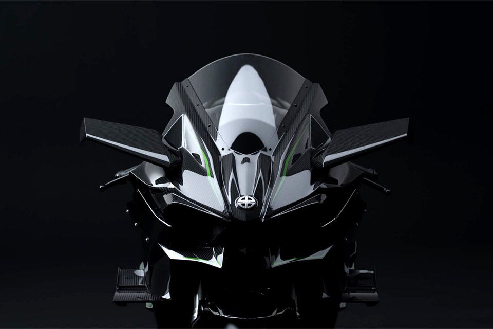 Kawasaki Ninja H2R Racing Bike