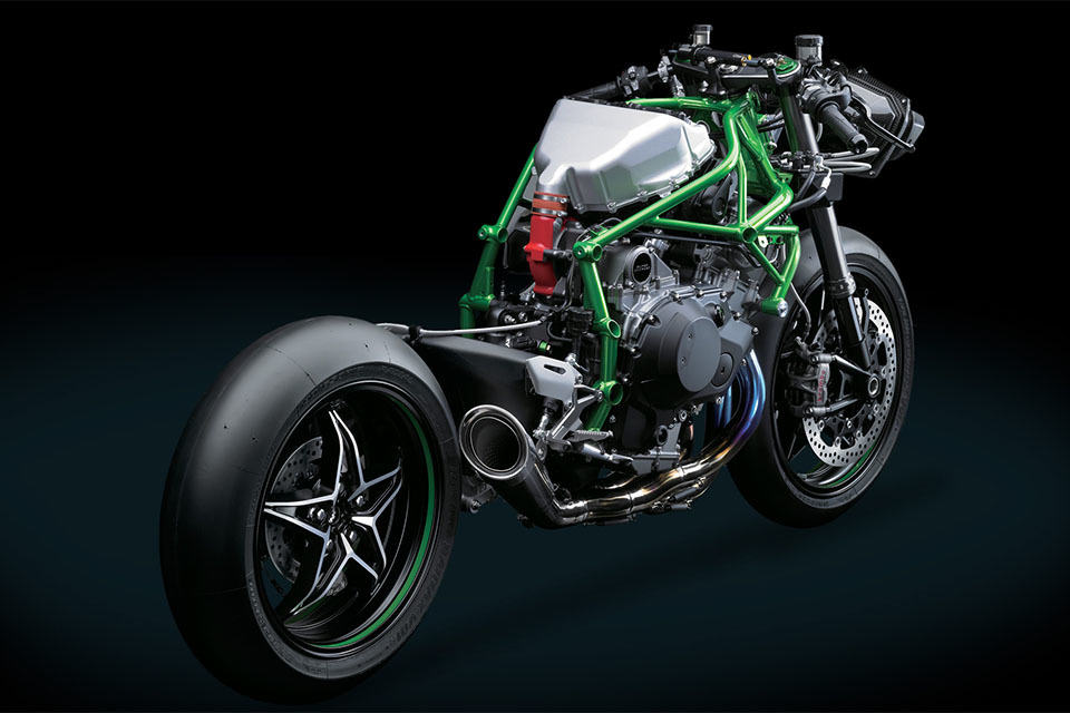 supercharged kawasaki ninja h2r looks like a bat out of hell mikeshouts. Black Bedroom Furniture Sets. Home Design Ideas