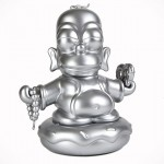 Homer Attained Enlightenment, Became a, erhm… Silver Donut Buddha?