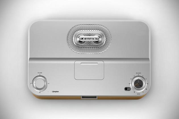 Lampion High-end Tube Amplifier + Sound Dock by Stefan Radev