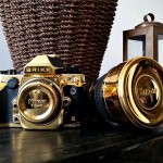 After Gilding iPhones, Brikk Wants to Cover Nikon Df in 24K Yellow Gold Too