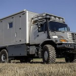 Extreme Off-Road Mobile Home: Mercedes-Benz Zetros With Mobile Home Body
