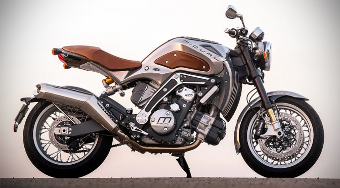 Midual's First Bike Has a Fuel Tank Loaded With Gauges, Looks Almost Steampunk-ish