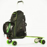 One Less Thing To Carry: A Backpack That Is Also An Electric Skateboard