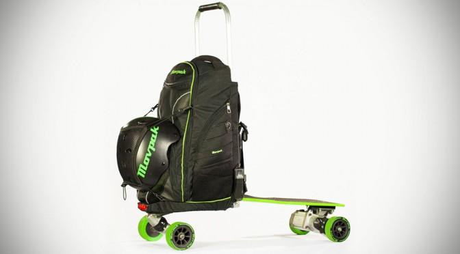 Movpak Backpack Electric Skateboard
