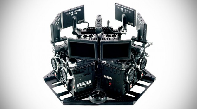 This Is What A Virtual Reality Camera System Looks Like and It Is Monstrous in Size and in Price
