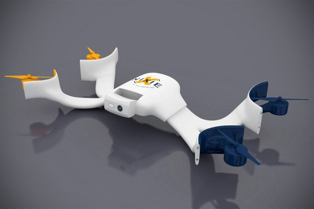 Nixie Flyable and Wearable Camera