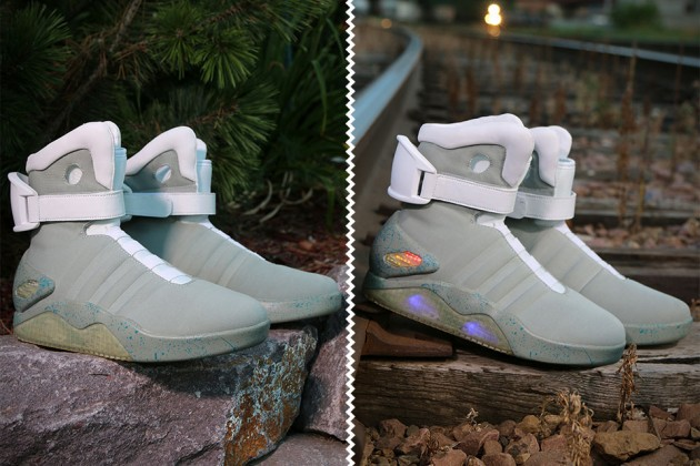 Officially Licensed Back to the Future II Light Up Shoes