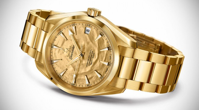 Omega Seamaster Aqua Terra Goldfinger 50th Anniversary Watch