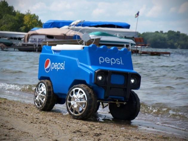 Pepsi Remote Control Rover Cooler