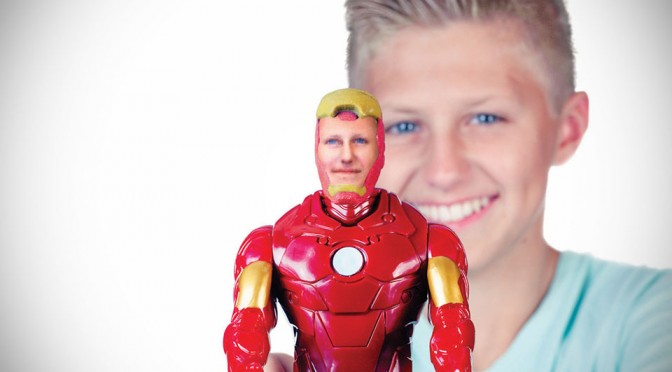 Now, You Can Buy a Marvel Action Figure With Your Face On It