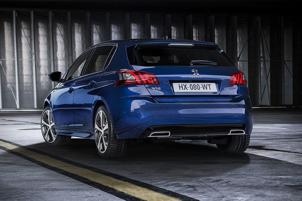 peugeot introduces two 308 gt with two dynamic engine. Black Bedroom Furniture Sets. Home Design Ideas
