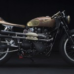 Steampunk Triumph Is The Result When An Accomplished Motorcyclist Had A Say About Her Ride