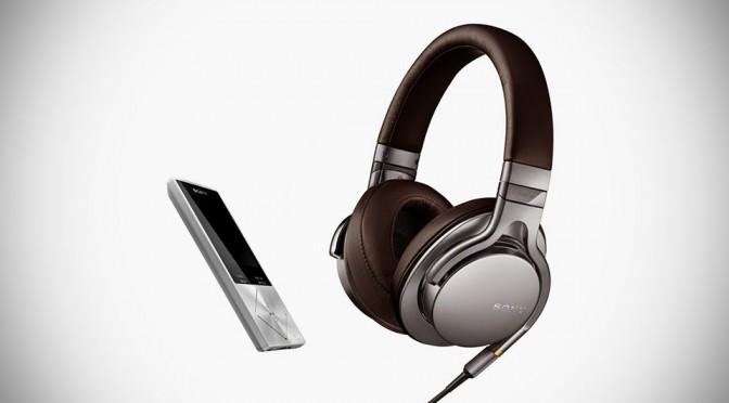 Sony Walkman NWX-A17 Hi-Res Audio Digital Music Player and MDR-1A Hi-Res Headphones