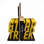 Secure Your Star Trek Literatures With These Star Trek Logo Bookends