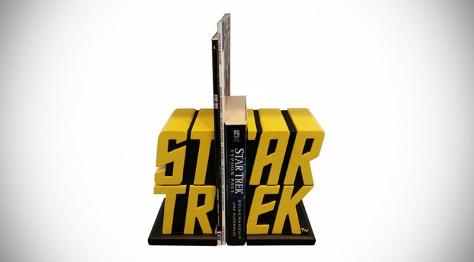 Star Trek Logo Bookends TOS Exclusive
