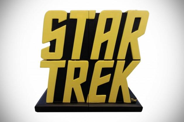 Star Trek Logo Bookends TOS Exclusive