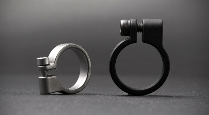 """The """"Clamp"""" Puts A Pipe Clamp On Your Finger. Is Industrial's Take Of A Ring At Its Very Best"""