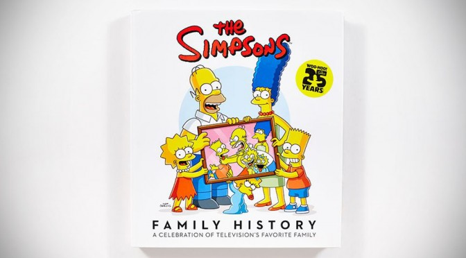 Everything You Need To Know About The Simpsons: The Simpsons Family History by Matt Groening (Book)