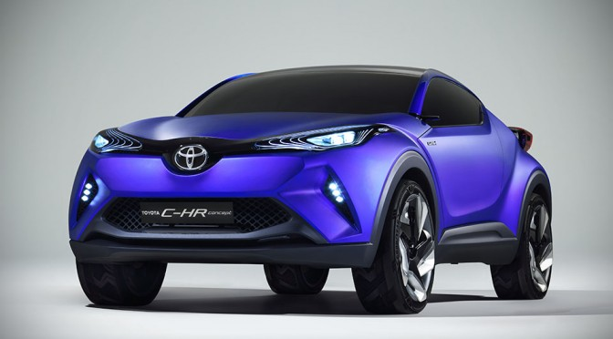 Toyota C-HR Crossover Concept is so Pretty, We Wish it Could Be Built Now