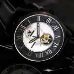 Vincero Mechanical Wrist Watch Features Real Italian Marble As Used By Renaissance Artist Michelangelo