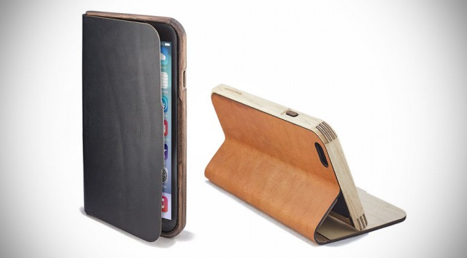 Wood & Leather Case for iPhone 6