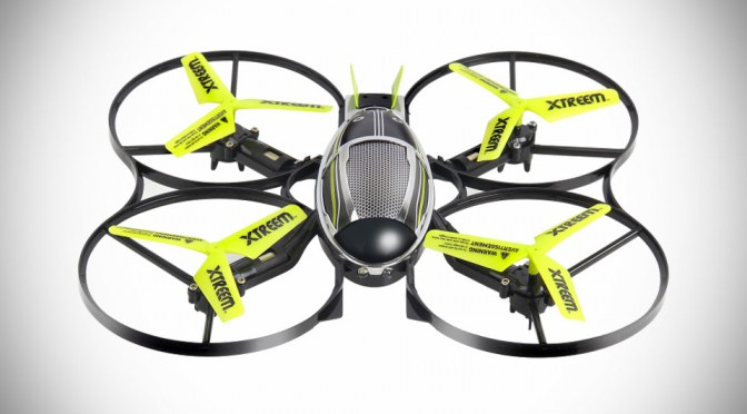 Xtreem Mini Stealth Drone RC Quadcopter by Swann