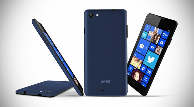 Unlock YEZZ Billy 4.7 Powered By Windows Phone 8.1 Now Available For Pre-order At $249