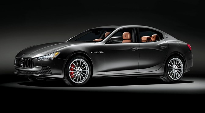 This Year, Neiman Marcus Christmas Book Has a Limited Edition Maserati Ghibli for Sale