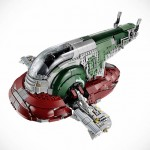 LEGO Star Wars Slave I UCS is Minifig Scale, Comes with 5 Minifigs Including Han Solo in Carbonite Minifig