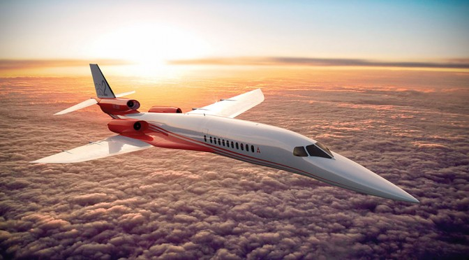 Here's Another Supersonic Jet That Wants to Take You from London to New York in 4 Hours