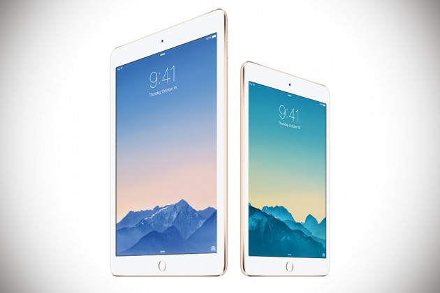 Apple iPad Air 2 and iPad mini 3