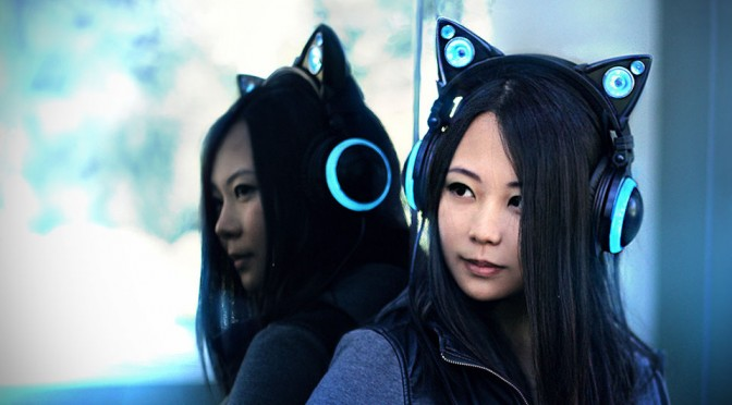 Personal Speakers With Cat Ears