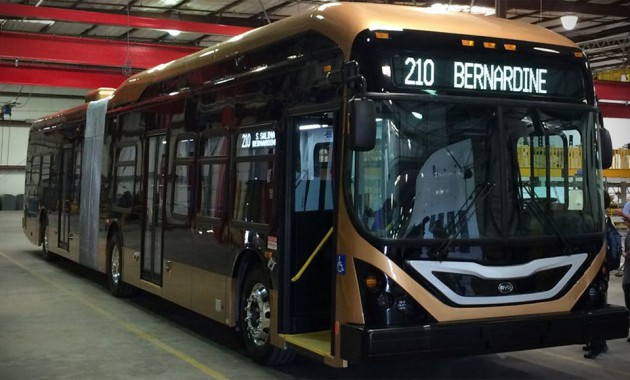 BYD Lancaster Articulated 60-foot eBus