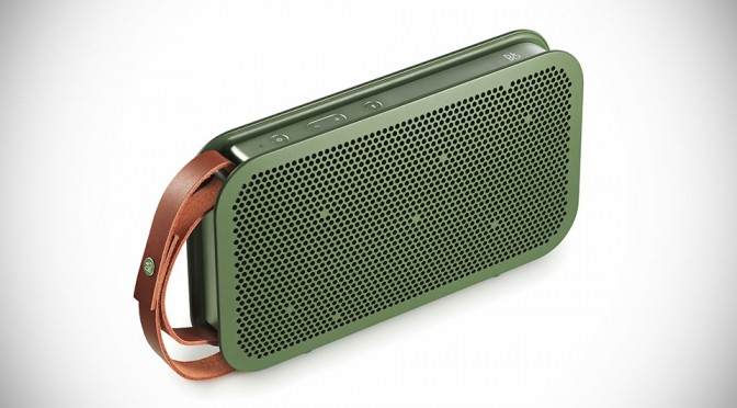 Bang & Olufsen BeoPlay A2 Portable Bluetooth Speaker - Green