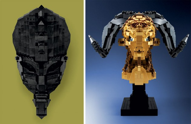 Beautiful LEGO 2: Dark by Mike Doyle [Hardcover]
