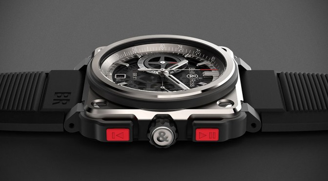 Bell & Ross BR-X1 Aircraft Gauge-inspired Watch Gets Rocker Push Buttons and Skeletal Look
