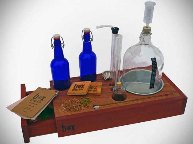 Box Brew Kit Lets You Craft Your Own Beer In Rustic Style
