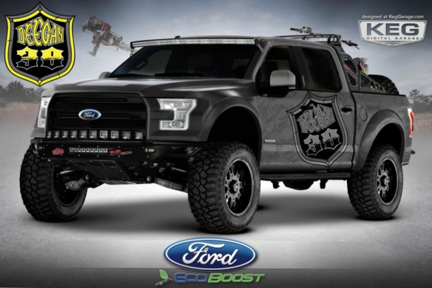 Custom Ford F-150 Trucks - Deegan 38
